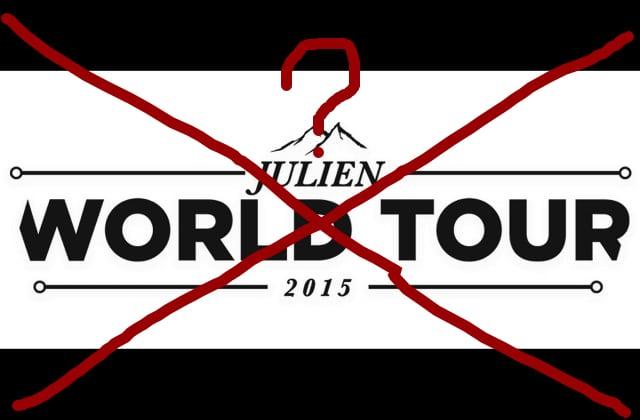 Le « Julien World Tour » de Julien Blanc : sa venue en France annulée ?