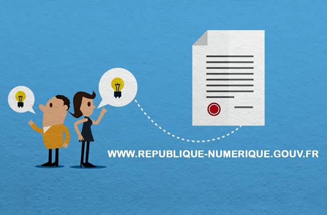 La loi «République Numérique», version finale, va être soumise à l'Assemblée