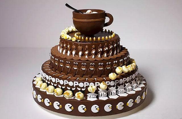 «Melting POP», le gâteau au chocolat qui s'anime dans une impressionnante vidéo