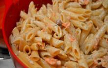 Recette des penne au saumon mariné et à l'aneth #PastaWeek