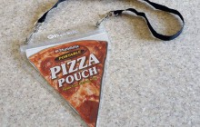 Emmenez une part de pizza partout avec vous grâce à cet accessoire WTF