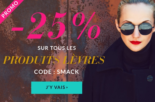 The Beautyst vous offre -25% sur tous les produits de maquillage des lèvres !