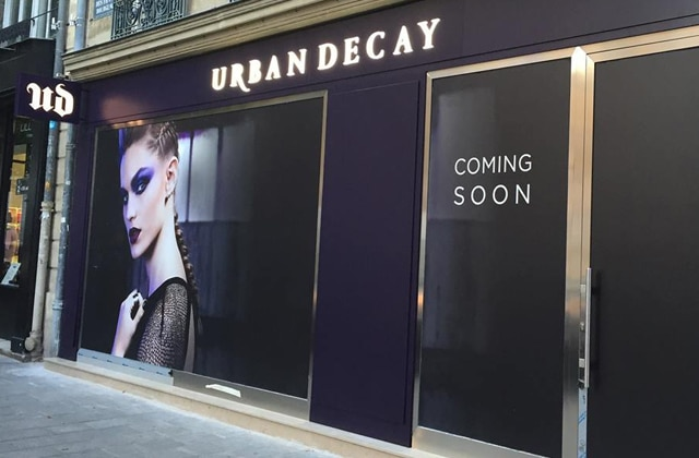 urban decay ouvre une boutique ph m re paris. Black Bedroom Furniture Sets. Home Design Ideas