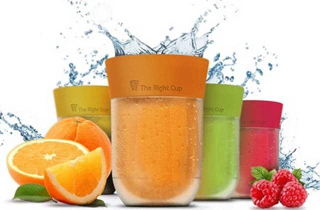 Les verres magiques qui changent (presque) l'eau en jus de fruits