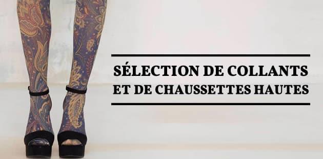 Sélection de collants et de chaussettes hautes pour l'automne 2015