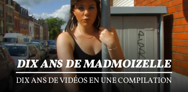 Dix ans de madmoiZelle, dix ans de vidéos en une compilation