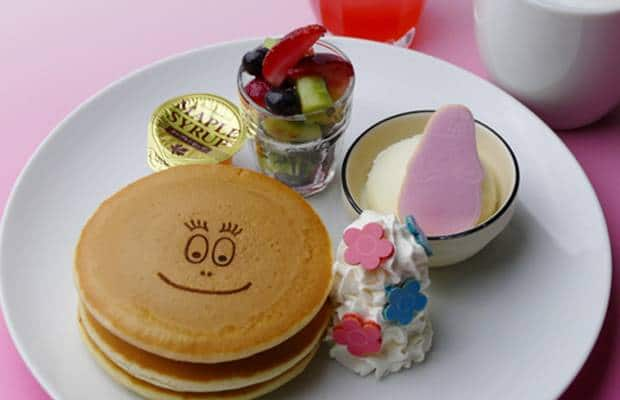 cafe barbapapa pancakes