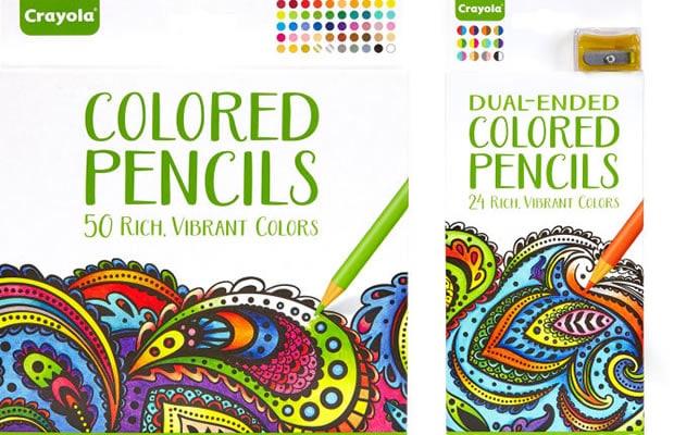 crayons de couleur crayola feutres