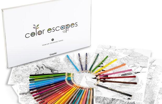 crayons de couleur crayola