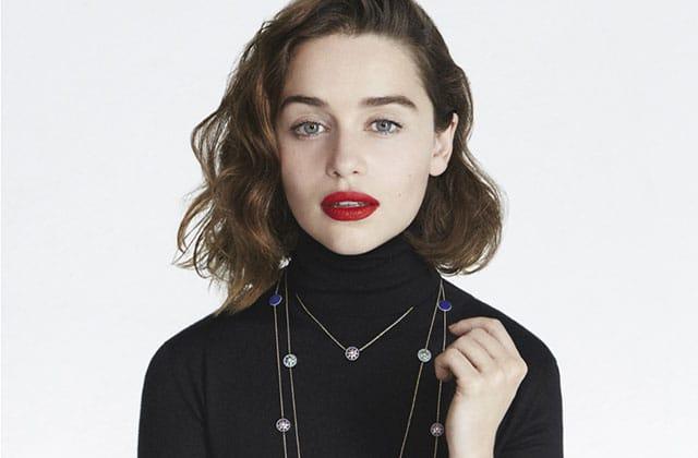 Emilia Clarke (Game of Thrones) est la nouvelle égérie Dior