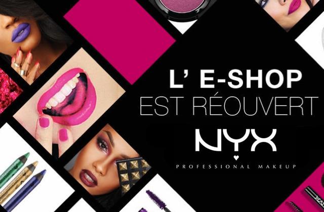 NYX Cosmetics lance son e-shop français, tout nouveau tout beau!