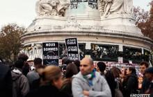 La place de la République rassemble Paris après les attentats du 13 novembre