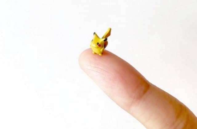 Pinkymon, les Pokémon reproduits à l'échelle microscopique