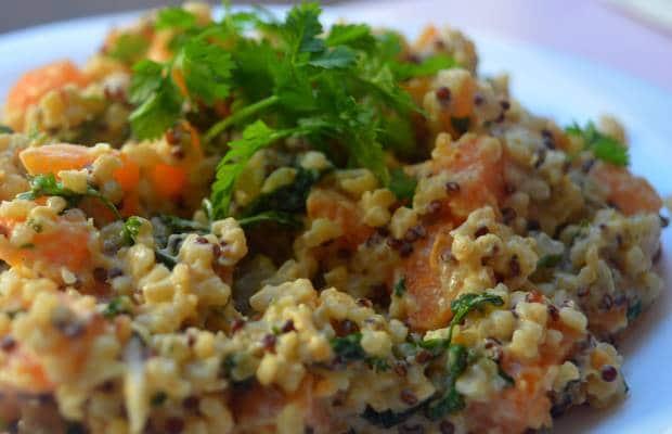 recette de quinoa coco