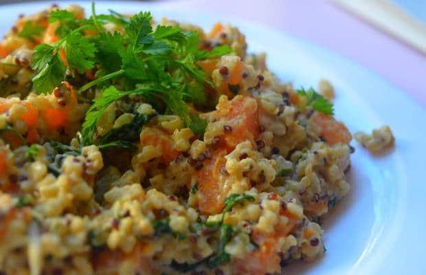 recette de quinoa cerfeuil