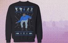 Le pull «Hotline Bling Dancing Drake» sera disponible pour Noël 2015