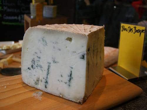 recette purée bleu