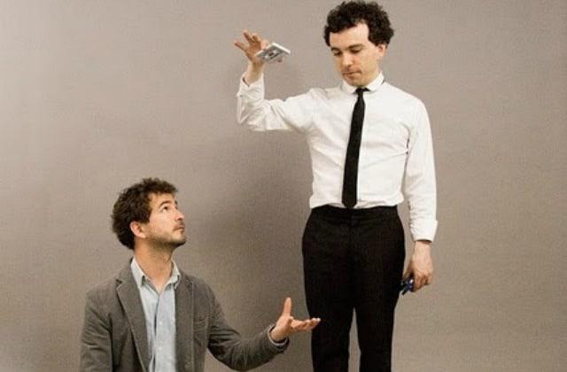 Renan Luce et son frère Damien lancent «Bobines», entre théâtre et musique