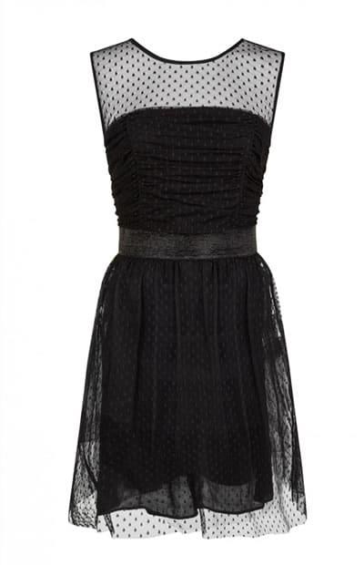 robe naf naf noire