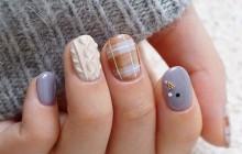 Les « Sweater Nails », la nouvelle tendance vernis inspirée des gros pulls d'hiver