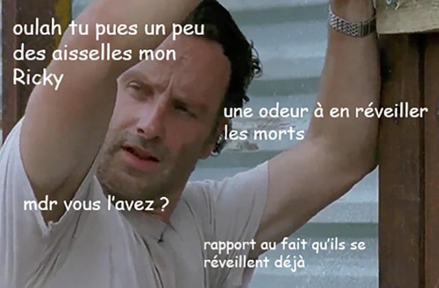 The Walking Dead S06E07 — Le récap (rigolo)
