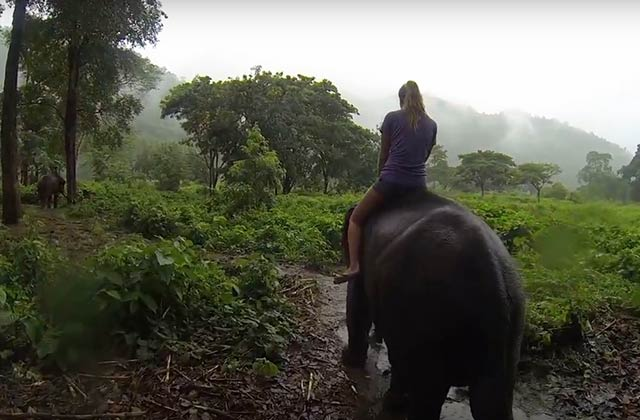 «My girlfriend took me backpacking», un petit tour du monde en sac à dos et GoPro