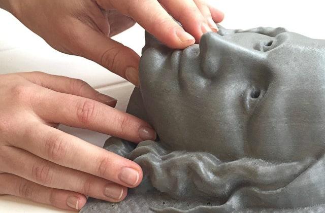 Unseen Art «montre» les chefs-d'œuvres de l'art aux personnes non-voyantes