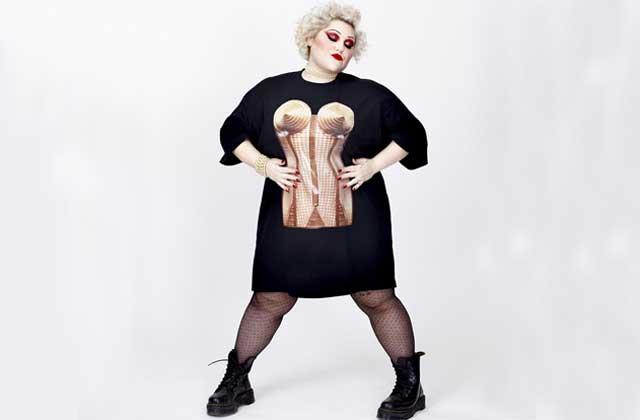 Beth Ditto va créer une ligne «grandes tailles» pour Jean-Paul Gaultier