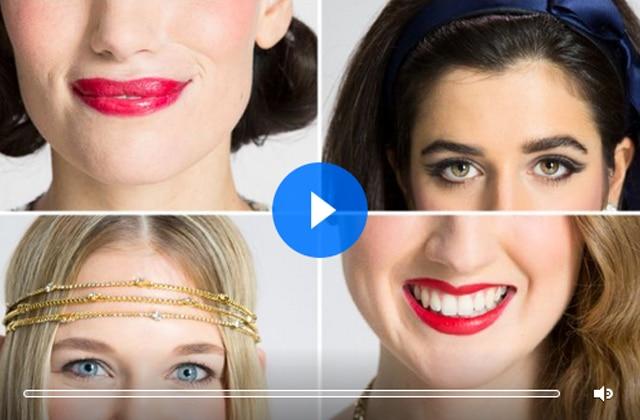 100 ans de looks de fête réunis dans une vidéo signée Allure
