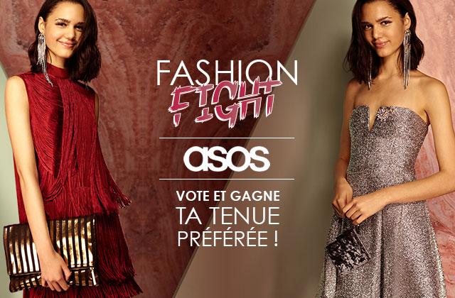 Fashion Fight ASOS — Le look à paillettes VS le look à franges (+ concours) !