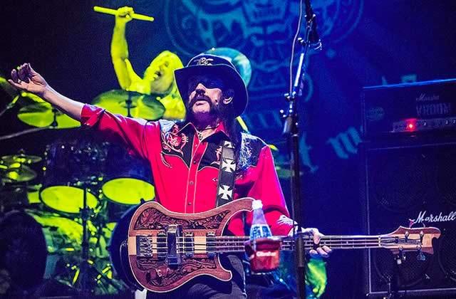 Lemmy Kilmister, le leader de Motörhead, est décédé