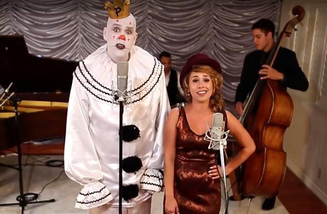 «Mad World» de Tears for Fears repris par Puddles le clown triste et Haley Reinhart
