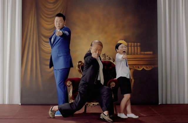 Psy sort «Daddy», un clip un peu trop WTF