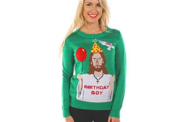Les pulls de Noël WTF, pour avoir le swag sous le sapin