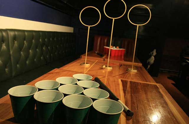 Le Quidditch pong, la nouvelle attraction de vos soirées