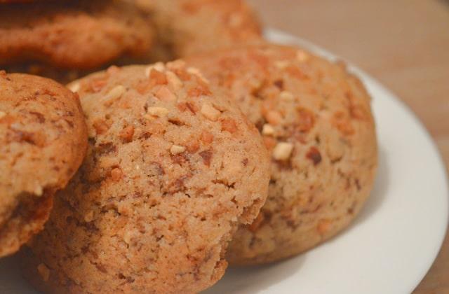 Cookies à la crème de marrons et au pralin — Recette gourmande