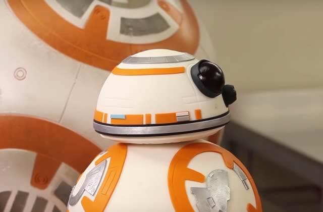 La recette du gâteau BB-8, le mignon droïde de Star Wars VII