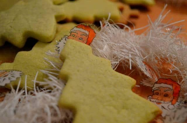 Recette des sablés de Noël au matcha