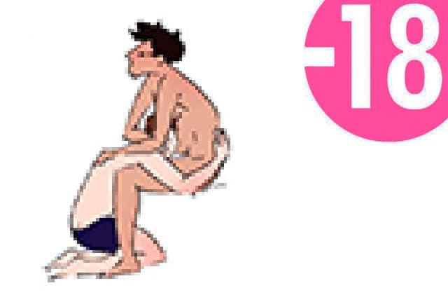 c' est la position du gay kamasutra de base pour la pipe