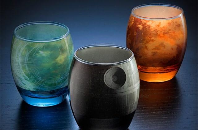 les verres star wars pour se d salt rer dans une galaxie. Black Bedroom Furniture Sets. Home Design Ideas