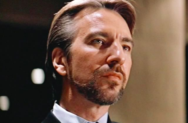 Alan Rickman en 4 rôles inoubliables