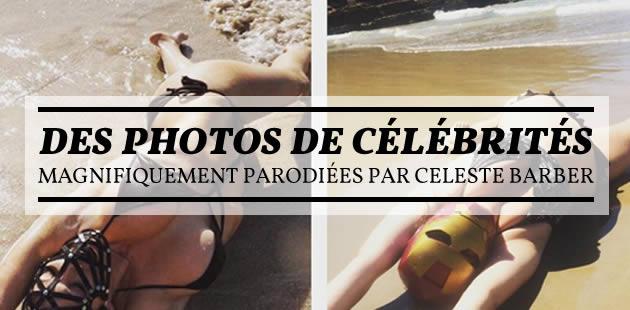Des photos de célébrités magnifiquement parodiées par Celeste Barber