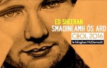 Ed Sheeran chante «Thinking Out Loud» en irlandais