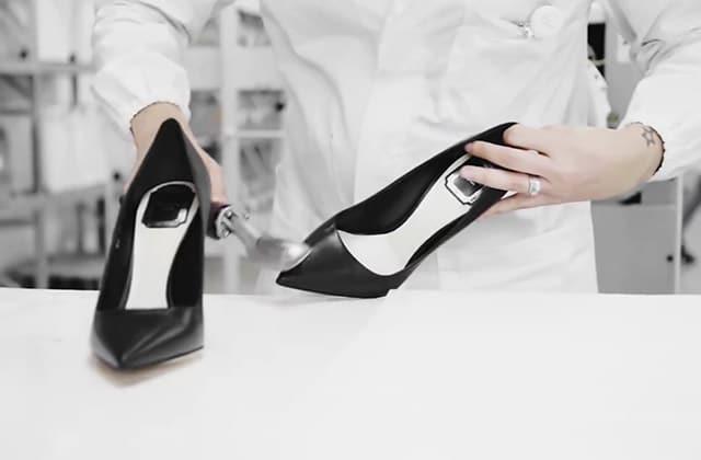 Comment sont fabriqués les escarpins Dior?