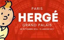 L'exposition Hergé investit le Grand Palais en septembre 2016!
