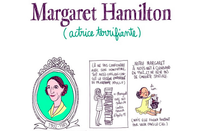 Margaret Hamilton, la terrifiante sorcière du Magicien d'Oz — Les Culottées, par Pénélope Bagieu