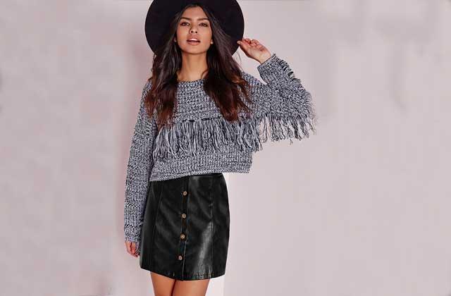 Comment porter la jupe boutonnée en cet hiver 2016 ?