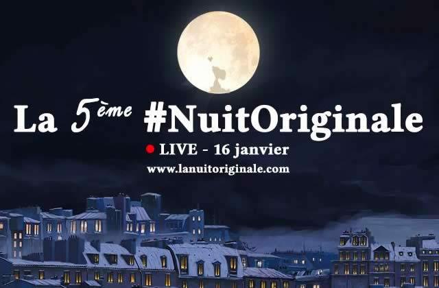 EN LIVE ! La 5ème #NuitOriginale toute la nuit dès 15h!