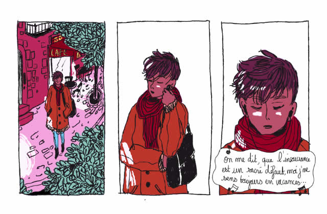 «On me dit que je suis naïve…»—Le dessin (inspirant) de Mr.Q