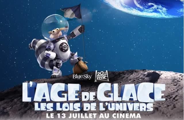 « L'Âge de Glace 5 : Les lois de l'univers » a sa première bande-annonce!